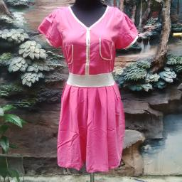 BR08157 - MINI DRESS PINK