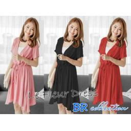BR09094-1 - LE FLEUR DRESS (BRCOLLECTION) - black