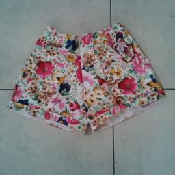 BR09743 - SALE HOTPANTS FLOWER
