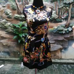 BR09867 - SALE DRESS MOTIF