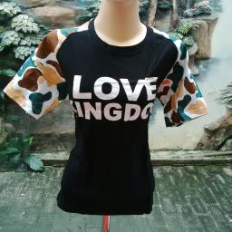 BR09980 - SALE BLOUSE LOVE BLACK