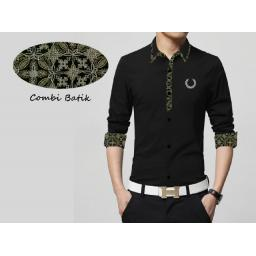 BR10643 - MAN30 FRED PERRY HITAM