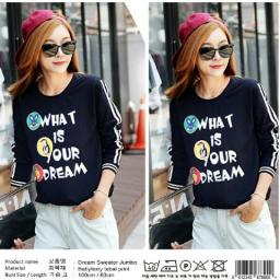 BR11820 - DREAM SWEATER JUMBO