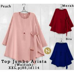 BR12278 - 53339 TOP JUMBO ARISTA - peach