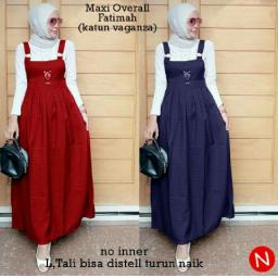 BR12343 - 60254 MAXI OVERALL FATIMAH - merah