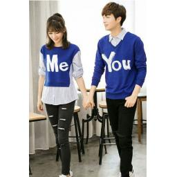 BR13356 - CP SWEATER ME YOU BIRU