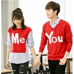 BR13358 - CP SWEATER ME YOU MERAH
