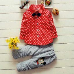 BR13404 - ST MICKEY POLKA RED