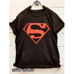 BR13945 - SUPERMAN T-SHIRT TUMBLR TEE