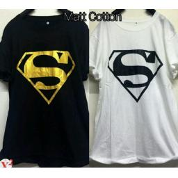 BR14145 - SUPERMAN T-SHIRT TUMBLR TEE - Putih