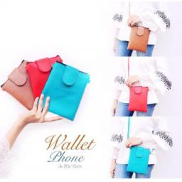 BR14166 - WALLET PHONE - Red