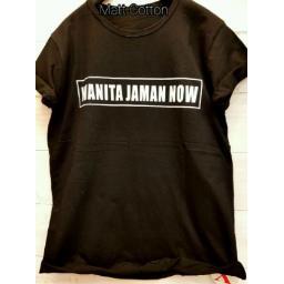 BR14211 - WANITA JAMAN NOW T-SHIRT TUMBLR TEE