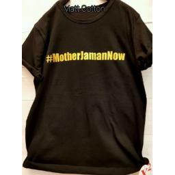 BR14212 - MOTHER JAMAN NOW T-SHIRT TUMBLR TEE