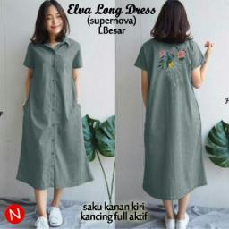 BR14303 - 61135 ELVA LONG DRESS ABU