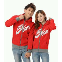 BR14401 - CP JAKET JUST DO IT MERAH