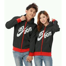 BR14402 - CP JAKET JUST DO IT HITAM
