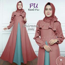BR15075 - SHIREEN SYARI DUSTY (PU)