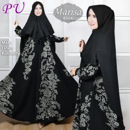 BR15234 - MARISA SYARI BLACK (PU)