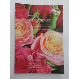 BR15356 - MASKER WAJAH SECRET NATURE ROSE KOREA MURAH