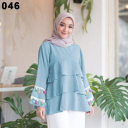 BR15369 - BLOUSE 046 TURKIS SOFT