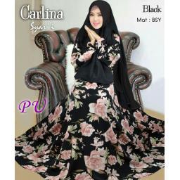 BR15641 - CARLINA SYARI JUMBO BLACK (PU)