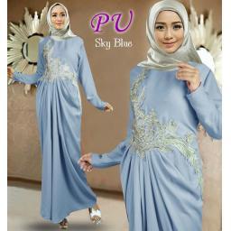 BR15648 - NASMIRA SYARI BLUE (PU)