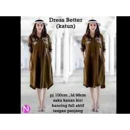 BR15831 - 70124 DRESS BETTER COKLAT