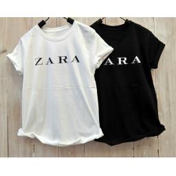 BR16043 - ZARA TSHIRT TUMBLR TEE - putih
