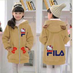 BR16385 - JAKET KIDS FILA HELLO KITTY COKSU