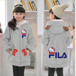 BR16386 - JAKET KIDS FILA HELLO KITTY ABU