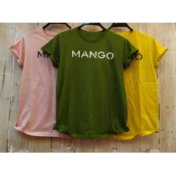 BR16728-2 - MANGO TSHIRT TUMBLR TEE - hijau