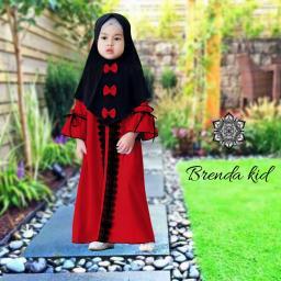 BR17125 - BRENDA SYARI KIDS MERAH