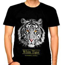 BR17312 - WHITE TIGER KAOS PRIA TSHIRT TUMBLR TEE