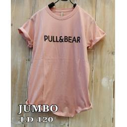 BR17452 - PULL & BEAR DUSTY TSHIRT TUMBLR TEE SIZE JUMBO