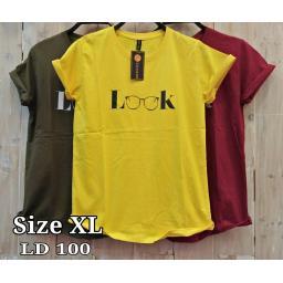 BR17461-2 - LOOK TSHIRT TUMBLR TEE SIZE XL - kuning