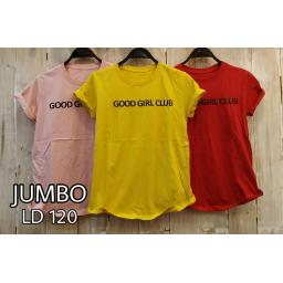 BR17858 - GOOD GIRL CLUB TSHIRT TUMBLR TEE SIZE JUMBO - kuning