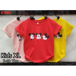 BR17925-1 - MICKEY KAOS ANAK TSHIRT TUMBLR TEE SIZE XL - dusty