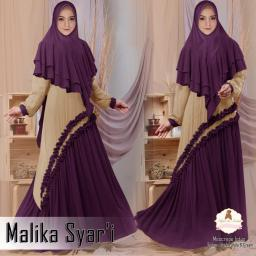 BR18018 - MALIKA SYARI PURPLE CREAM (EP)