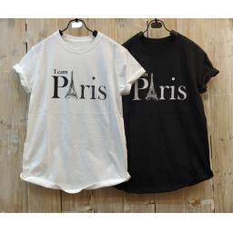 BR18112-1 - PARIS TSHIRT TUMBLR TEE - putih