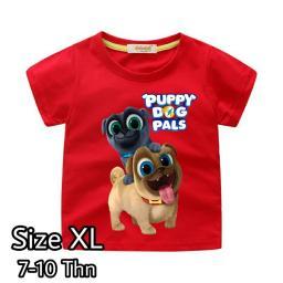 BR18114 - PUPPY DOG PALS KAOS ANAK TSHIRT TUMBLR TEE SIZE XL