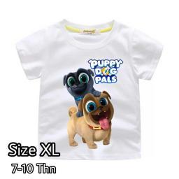 BR18115 - PUPPY DOG PALS KAOS ANAK TSHIRT TUMBLR TEE SIZE XL