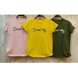 BR18139 - SWEET STORY SALUR TSHIRT TUMBLR TEE - pink