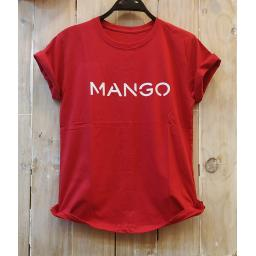 BR18510 - MANGO MERAH TSHIRT TUMBLR TEE