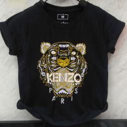 BR19009 - KENZO HITAM KAOS ANAK TSHIRT TUMBLR TEE - size M