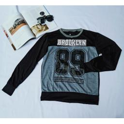 BR20609 - SWEATER BROOKLYN HITAM