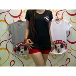BR3561 - MICKEY MOUSE - GREY
