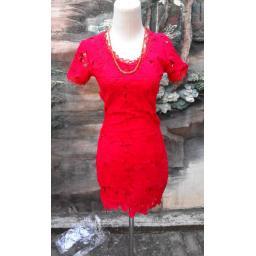 BR3774 - DRESS RED.