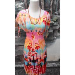BR03823 - DRESS ORANGE