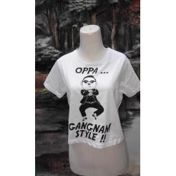 BR03906 - CROP TEE OPPA GANGNAM STYLE