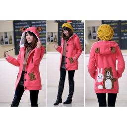 BR5846 - JAKET FUNNY PEACH